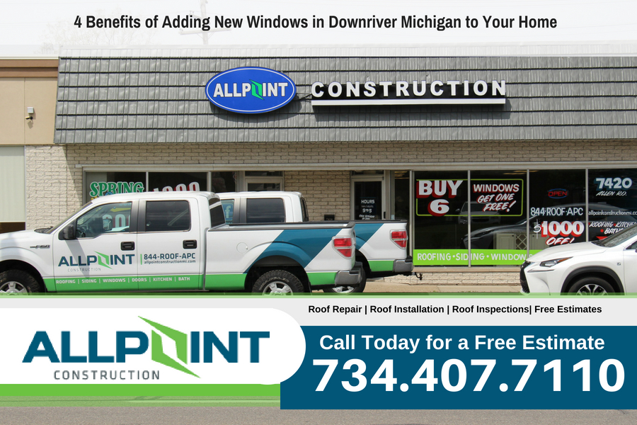 4 Benefits of Adding New Windows in Downriver Michigan to Your Home
